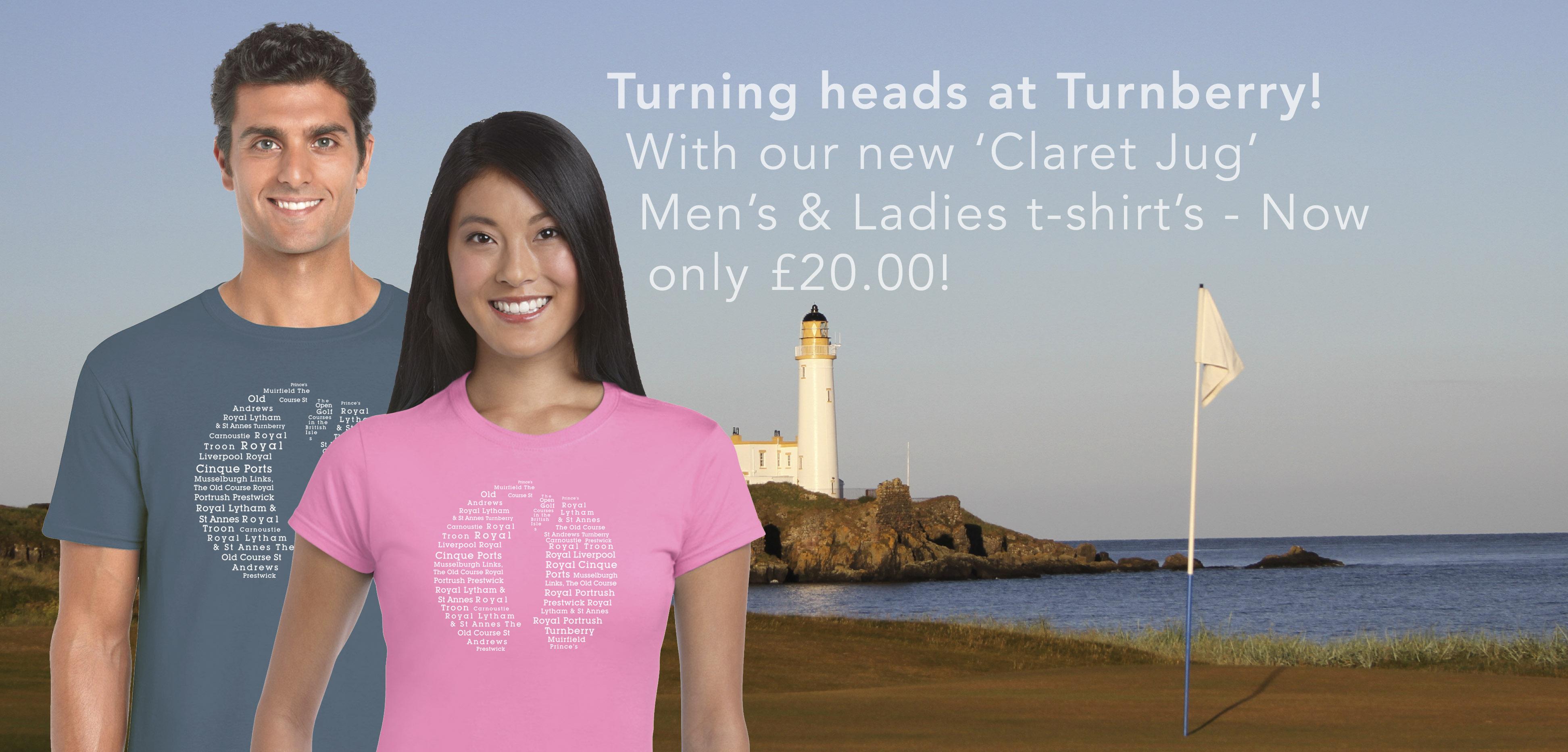 Shirt design course - Apres Golf Gear Claret Jug T Shirt